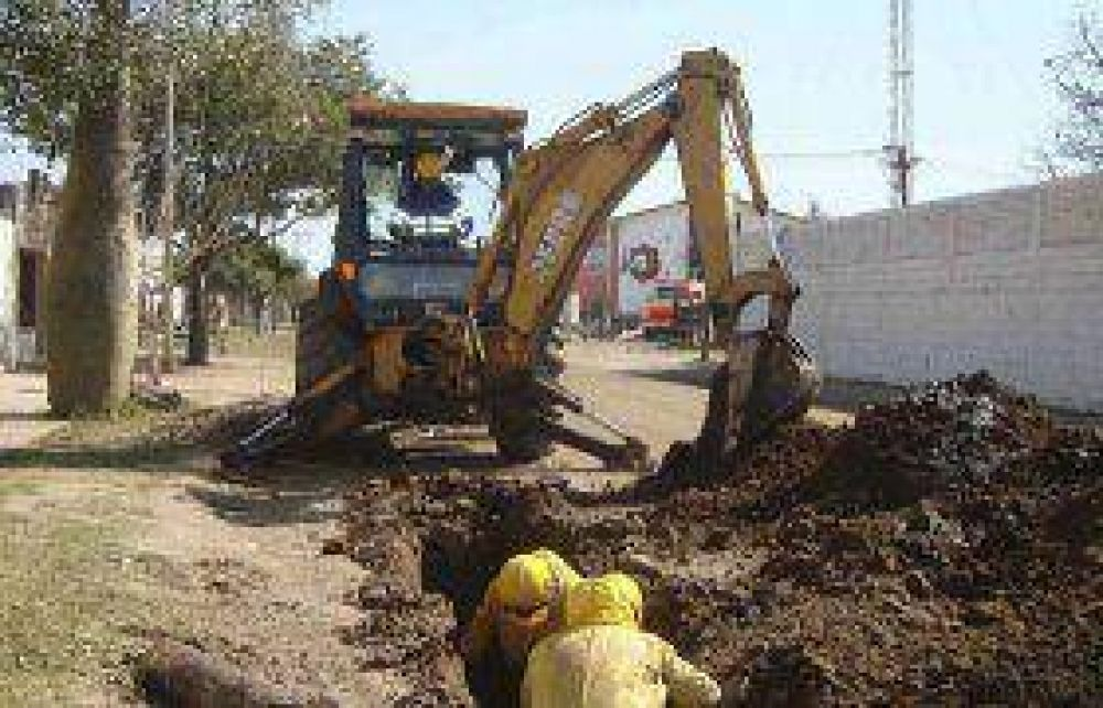 Aguas del Norte mejoró la obra de saneamiento en el barrio Fátima de Tartagal