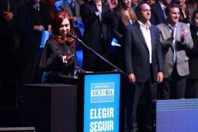 Cristina no está pero el FPV rebosa optimismo