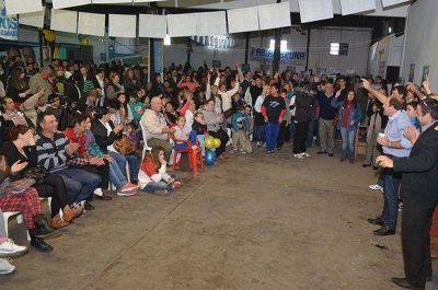 """Bruna en Pico: """"Quiero una provincia que respalde al proyecto nacional"""""""