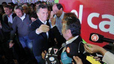 Macri se sumó al festejo de Cornejo y felicitó a De Marchi