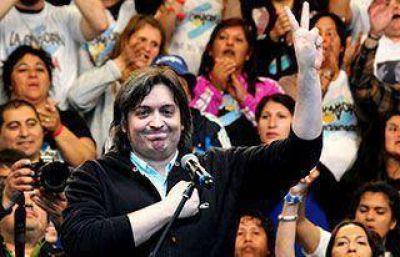 Máximo Kirchner y Héctor Roquel, los principales candidatos