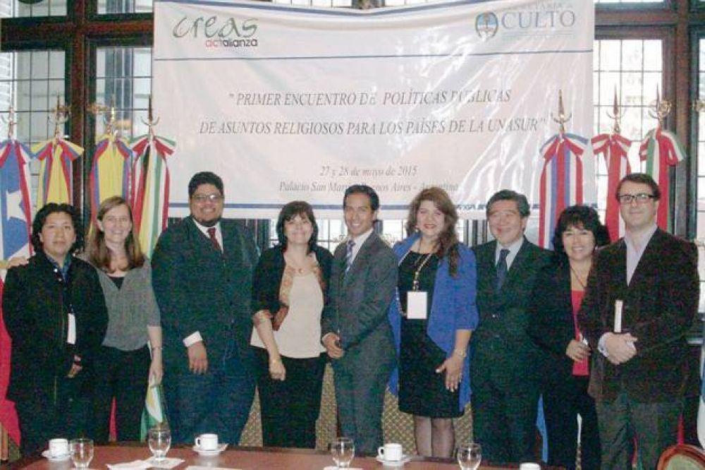 Chubut participó del Primer Encuentro de Políticas Públicas en Asuntos Religiosos de la UNASUR
