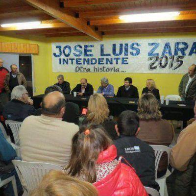 Bari y Lozano acompañan la lista de Unión por Patagones, de José Luis Zara