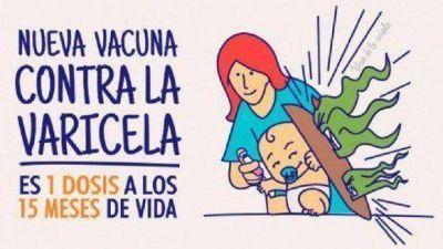 Vacunas contra la varicela: Llegaron a la provincia 7.080 dosis