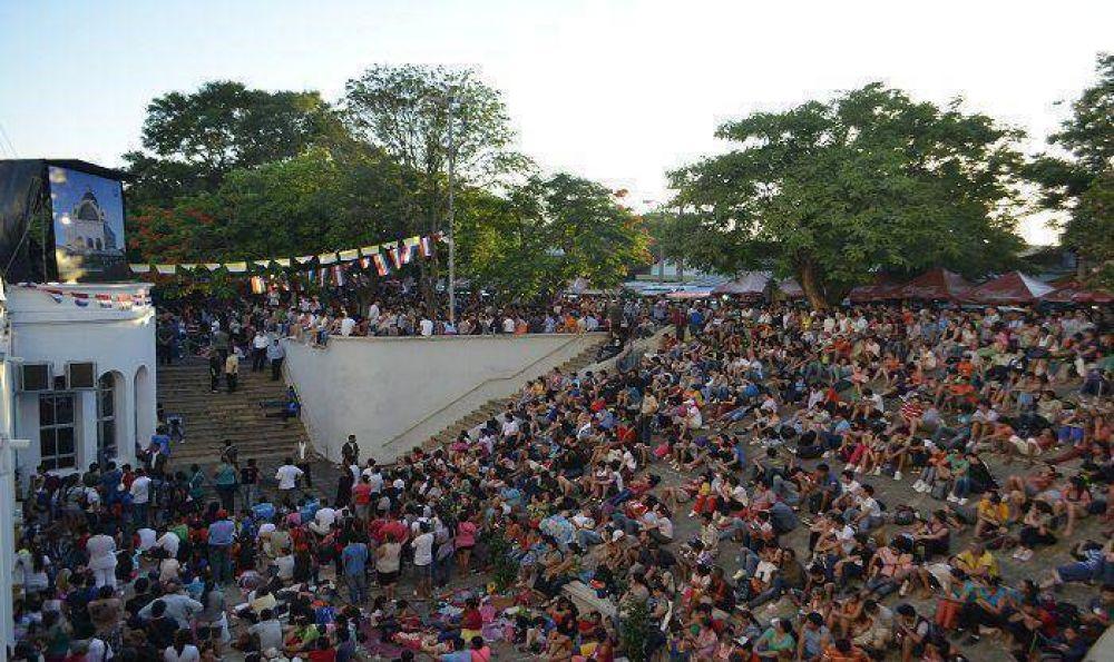 Colocarán 17 pantallas gigantes en Caacupé para misa del Papa