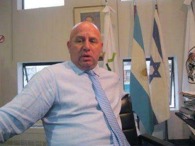 El vicepresidente da la DAIA presenta su renuncia y acepta su candidatura a diputado nacional por la provincia de Buenos Aires