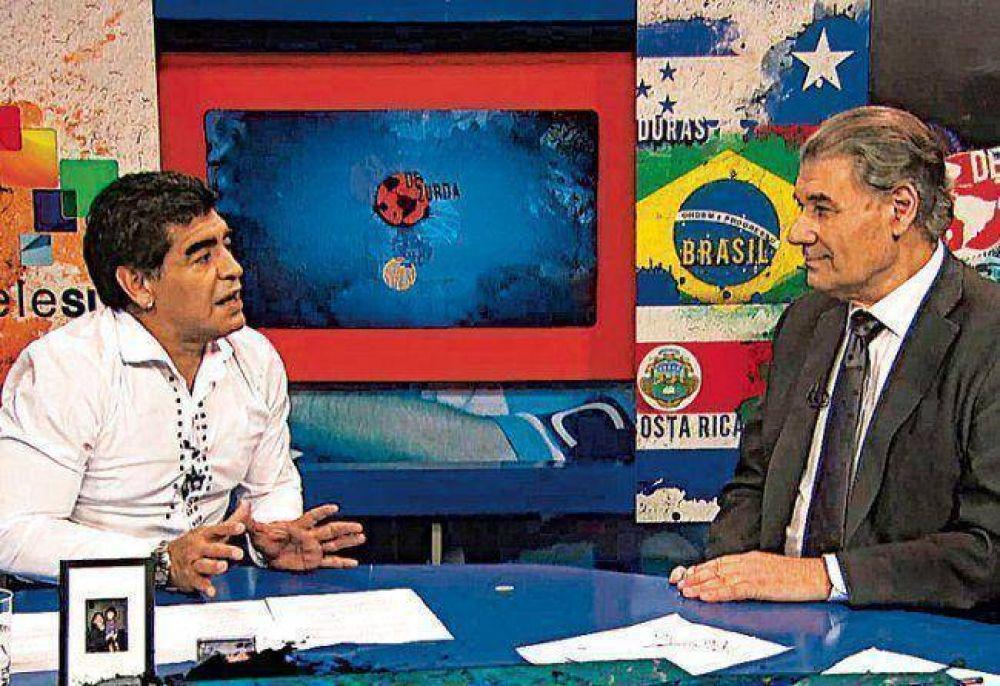 Maradona será candidato a la presidencia de la FIFA