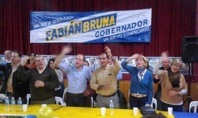 """Bruna: """"Defendemos al compañero Scioli"""""""