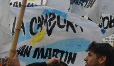 La Cámpora no logró hacer pie en San Martín