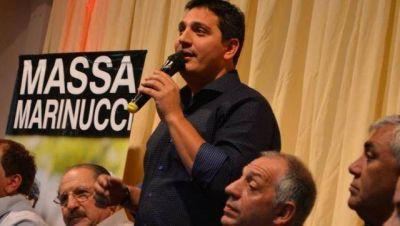 Marinucci presentó a los dirigentes que lo acompañan en su boleta