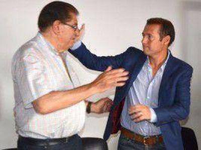 Pereyra respalda al candidato del gobierno