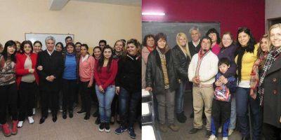 El gobernador Poggi visitó a alumnos de cinco aulas del PIE en la ciudad de San Luis
