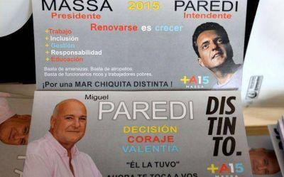 Miguel Paredi presentó la lista de quienes lo acompañan en su precandidatura