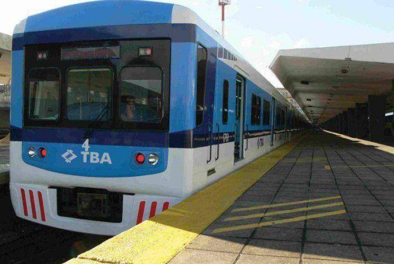 Sindicalistas levantaron el paro del tren Sarmiento