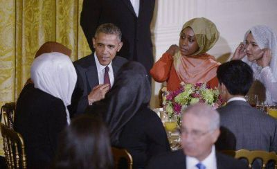 Obama hace Ramadán (por un día)