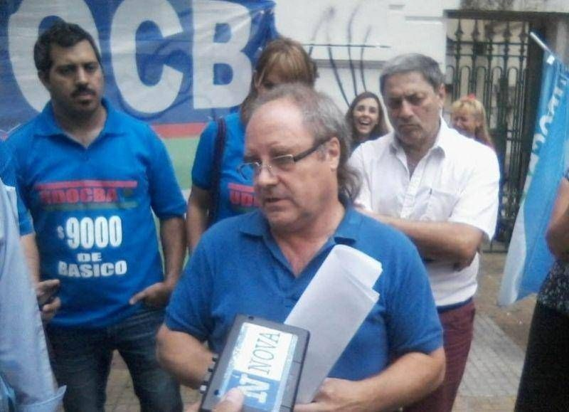 Miguel Díaz recalcó que el paro de UDocBA tuvo