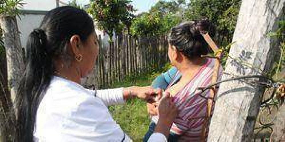 Concretaron nuevas recorridas casa por casa en Namqom para atender a vecinos