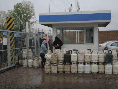 M�s de 90 mil usuarios sufren la falta de garrafas en Mendoza