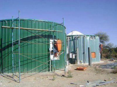 Ultiman detalles para la puesta en funcionamiento de la planta de biogás