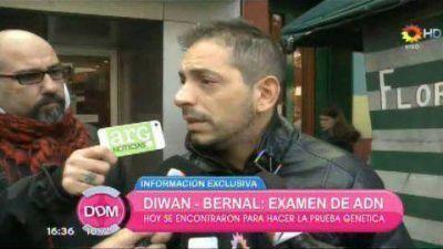 ¿Qué dijo Diwan después de realizarse el examen de ADN?