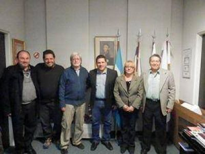 La DAIA se reuni� con candidato a Intendente del partido bonaerense de 3 de Febrero