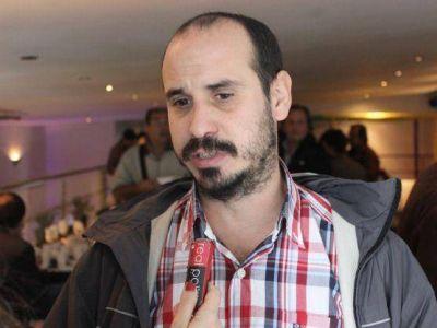 """Gastón Crespo: """"Para nosotros el rival, tanto en las PASO como en las generales, es Bruera"""""""