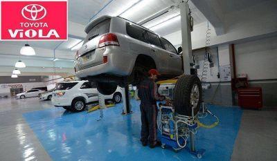 Toyota Viola renueva su taller de Postventa en Barracas
