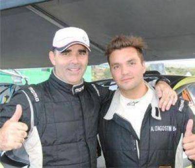 D'Agostini con el Maxi Rally