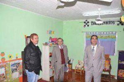 La Escondida: Capitanich inauguró la ampliación de una escuela especial y un playón deportivo