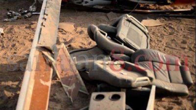 El piloto del helicóptero en el que se accidentó Gioja fue procesado