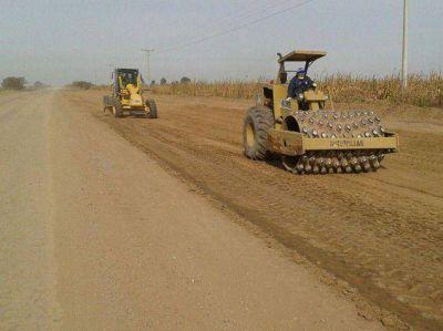 Inician pavimentación de ruta que une Toro Pujio y La Tordilla