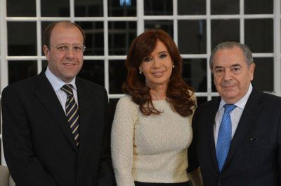 Cristina y la f�rmula Scioli-Zannini llegan para respaldar al oficialismo de Jorge y Bruna