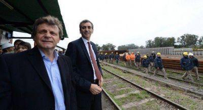 Otro problema para Randazzo: los nuevos durmientes de la v�a a Mar del Plata no resisten el paso de los trenes