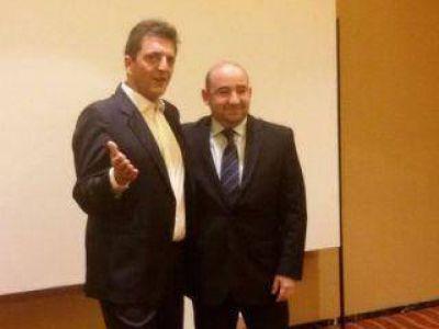 Pablo Mirolo se reunió con Sergio Massa