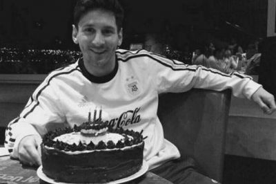 La intimidad del festejo de cumpleaños de Lionel Messi en la concentración