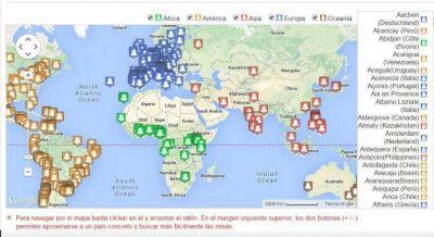 Fiesta de San Josemar�a: un mapa interactivo muestra cientos de misas que se celebran en el mundo por su 40 aniversario