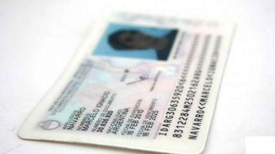 Más de 80 mil DNI listos para retirar en los registros civiles