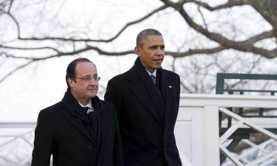 Obama reiteró a Hollande su compromiso de terminar con prácticas de espionaje