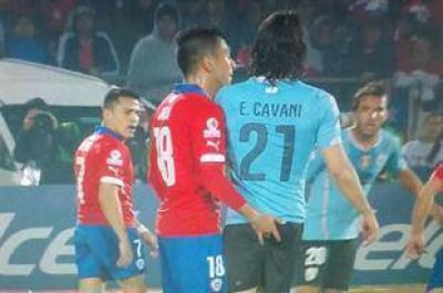 La Conmebol le abrirá un expediente disciplinario a Gonzalo Jara, tras agredir a Cavani