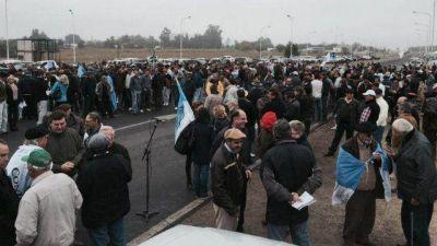 El campo se movilizó en Paraná