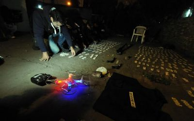 Luis Guillón: Narco vigilaba su zona de trabajo con un dron para evitar ser detenido