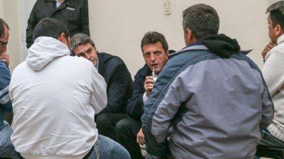 Massa, en Rosario: