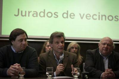 Pulti quiere Casas de Justicia y vecinos pacificadores