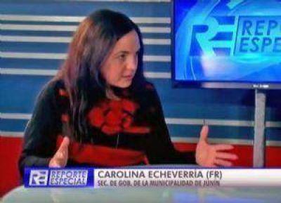"Carolina Echeverría: ""Junín ha sido muy olvidada, han sido muy mezquinos"""