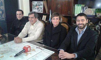 Sandra Lucero presentó su lista de precandidatos de cara a las elecciones
