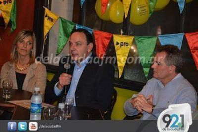 Luis Sevenie, candidato a concejal del PRO, expresó 'no entramos a la política por el oro'