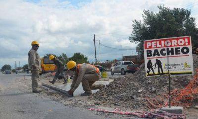 Por falta de fondos se redujeron los frentes de obra municipales