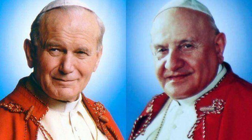 Francisco recuerda labor de San Juan Pablo II y San Juan XXIII a favor de los judíos