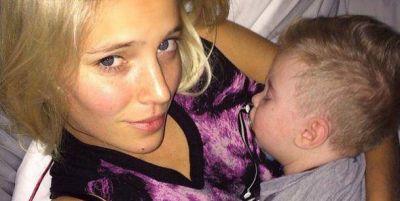 El difícil momento de Luisana Lopilato: internaron a su hijo