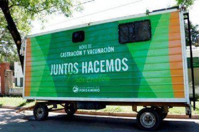 El Móvil de Castración y Vacunación se ubicará en el Barrio 25 de Mayo